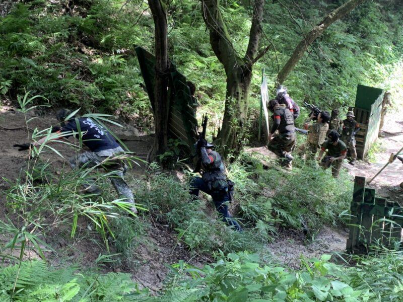 サバゲーフィールドGARDEN-Z 7月12日定例会 No.3