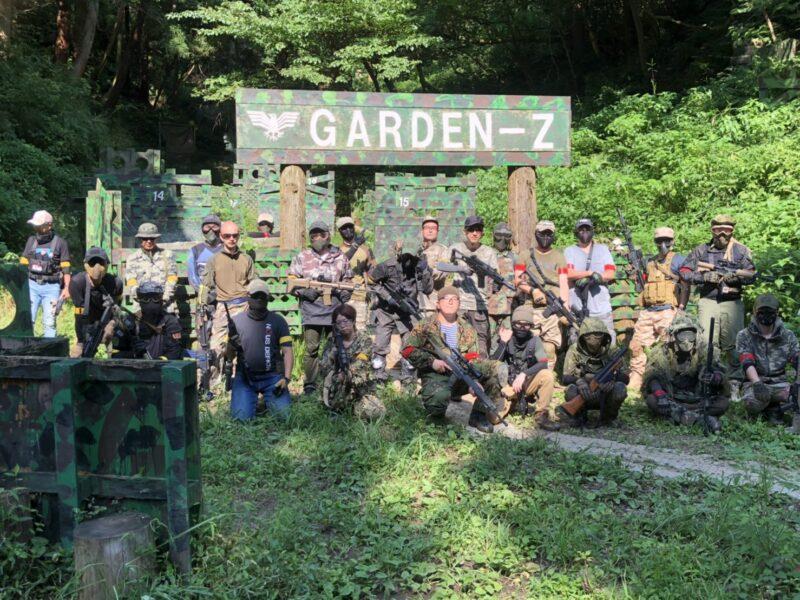 サバゲーフィールドGARDEN-Z 8月1日(土)定例会 No.3