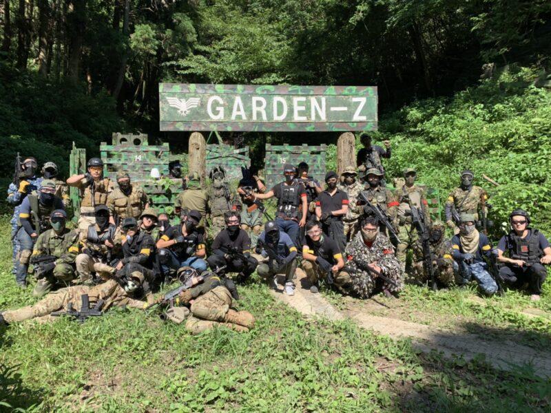 サバゲーフィールドGARDEN-Z 8月2日(日)定例会 No.2