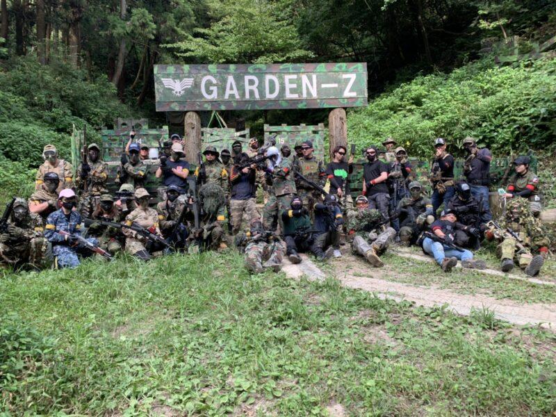 サバゲーフィールドGARDEN-Z 8月9日(日)定例会 No.4