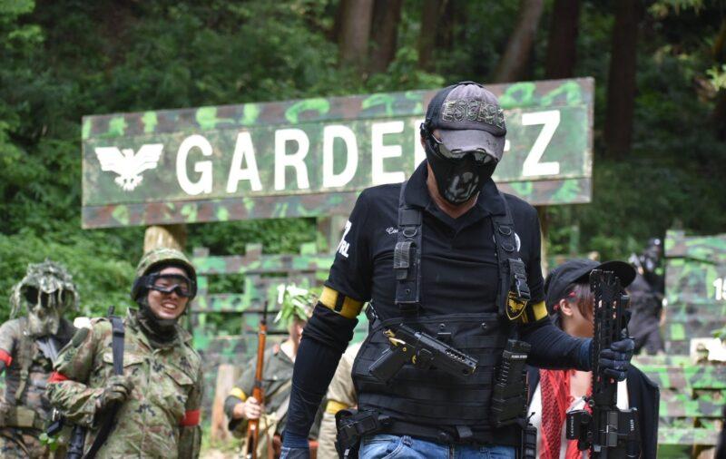 サバゲーフィールドGARDEN-Z 8月10日(月)定例会 No.2