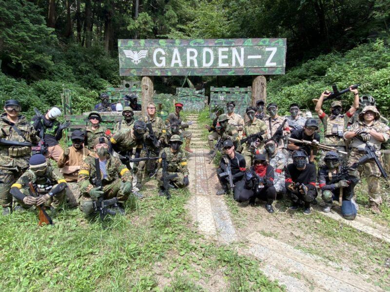 サバゲーフィールドGARDEN-Z 8月10日(月)定例会 No.3