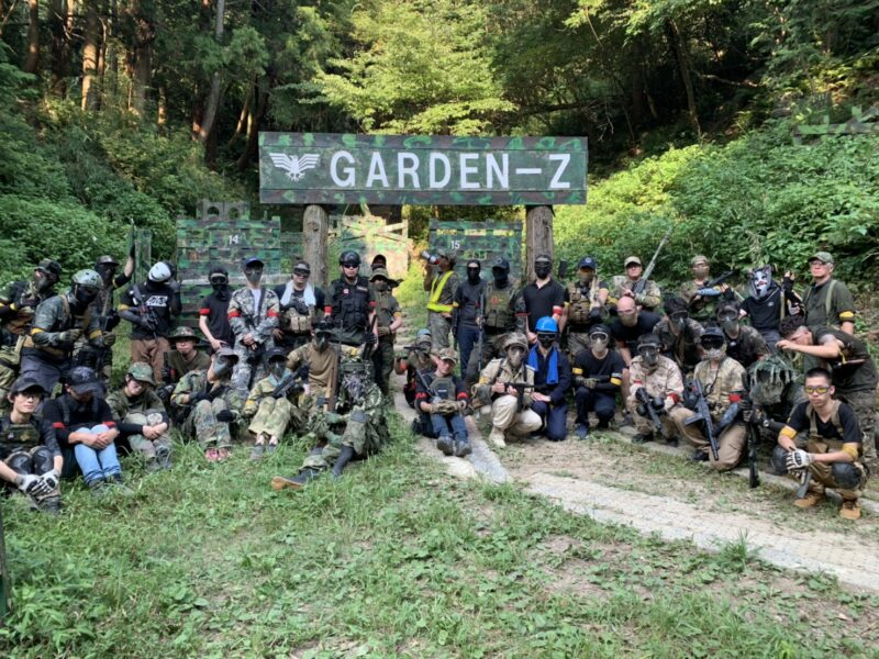 サバゲーフィールドGARDEN-Z 8月16日(日)定例会 No.1