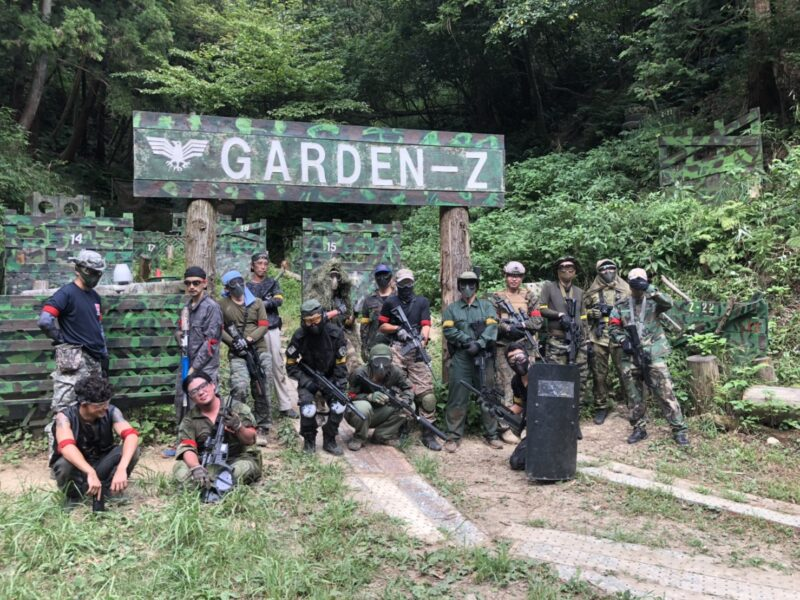 サバゲーフィールドGARDEN-Z 8月22日(土)定例会 No.3