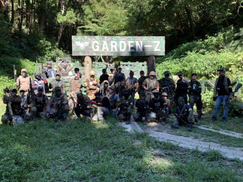 サバゲーフィールドGARDEN-Z 8月30日(日)定例会 No.3