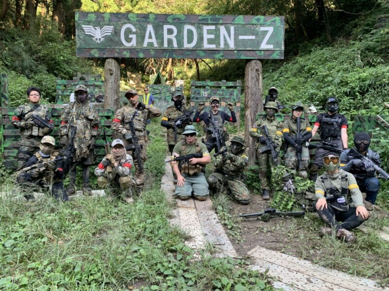 サバゲーフィールドGARDEN-Z 9月27日(日)定例会NO.1