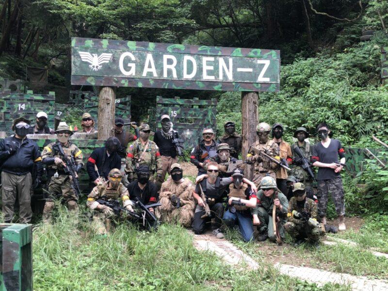 サバゲーフィールドGARDEN-Z 9月19日(土)定例会NO.3