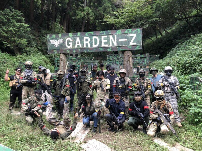 サバゲーフィールドGARDEN-Z 10月3日(土)定例会NO.3