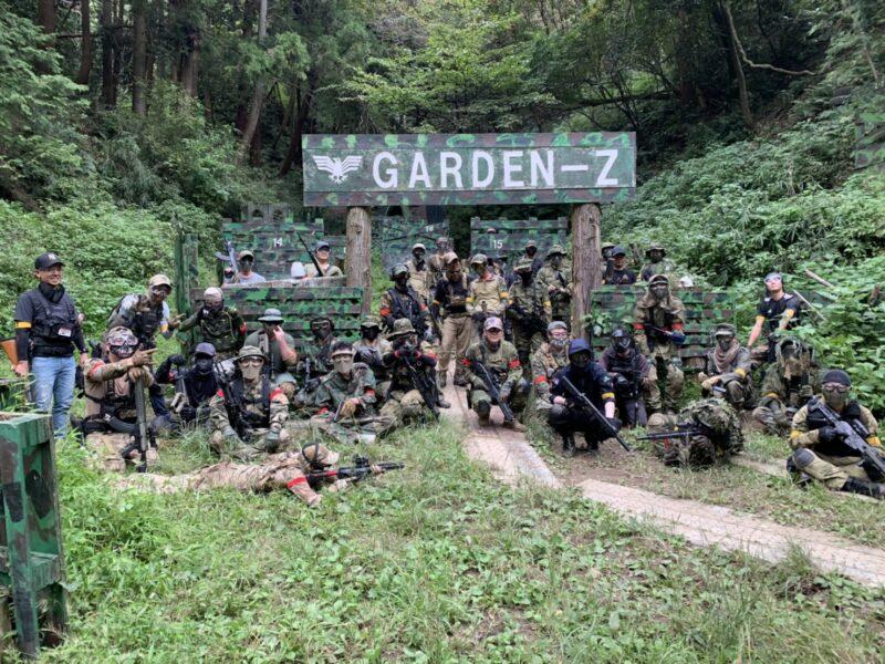 サバゲーフィールドGARDEN-Z 10月4日(日)定例会NO.5