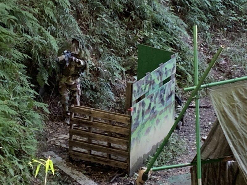 サバゲーフィールドGARDEN-Z 10月25日(日)定例会NO.3