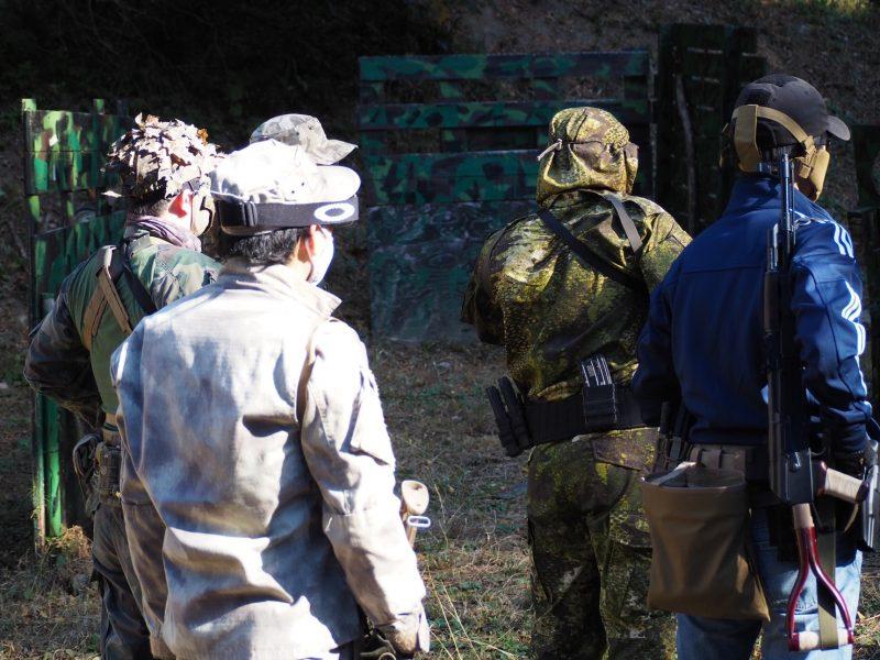 サバゲーフィールドGARDEN-Z 11月21日(土)定例会NO.1