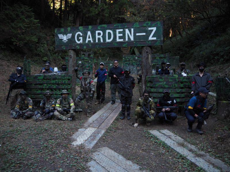 サバゲーフィールドGARDEN-Z 11月21日(日)定例会NO.2