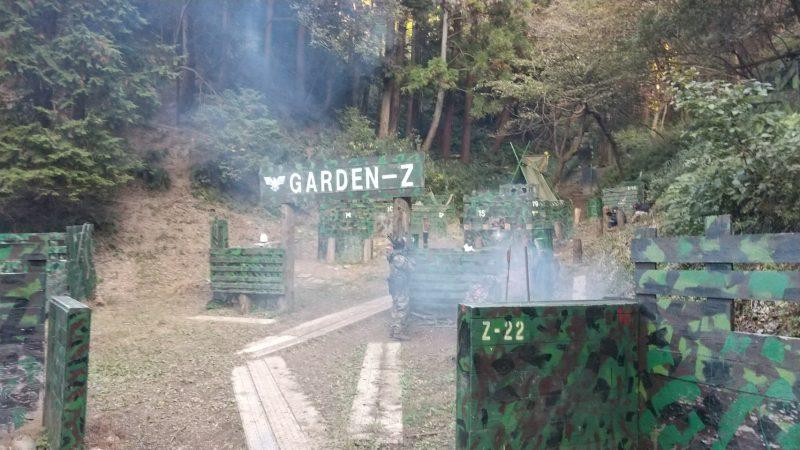 サバゲーフィールドGARDEN-Z 11月15日(日)定例会NO.3
