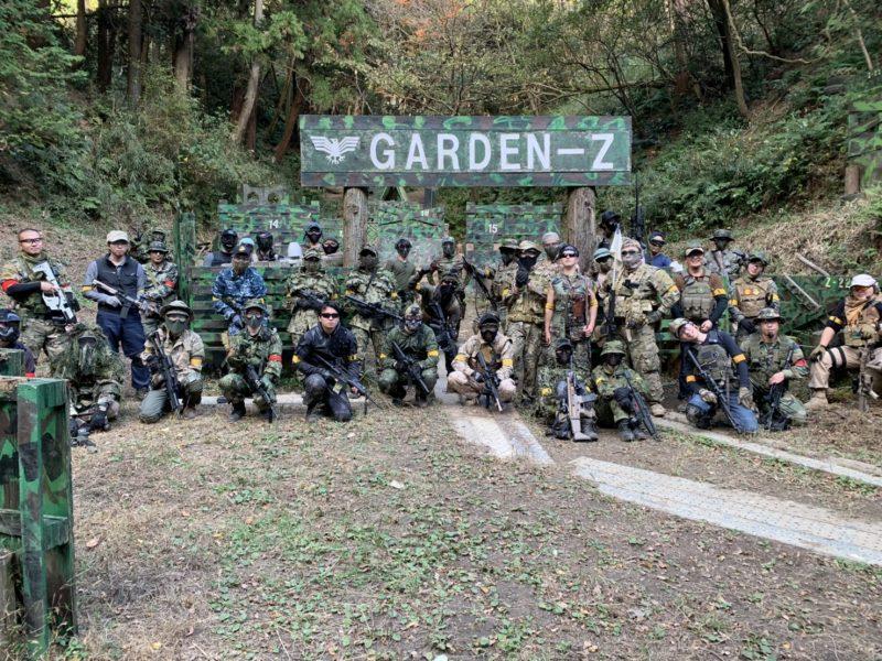 サバゲーフィールドGARDEN-Z 11月22日(日)定例会NO.3