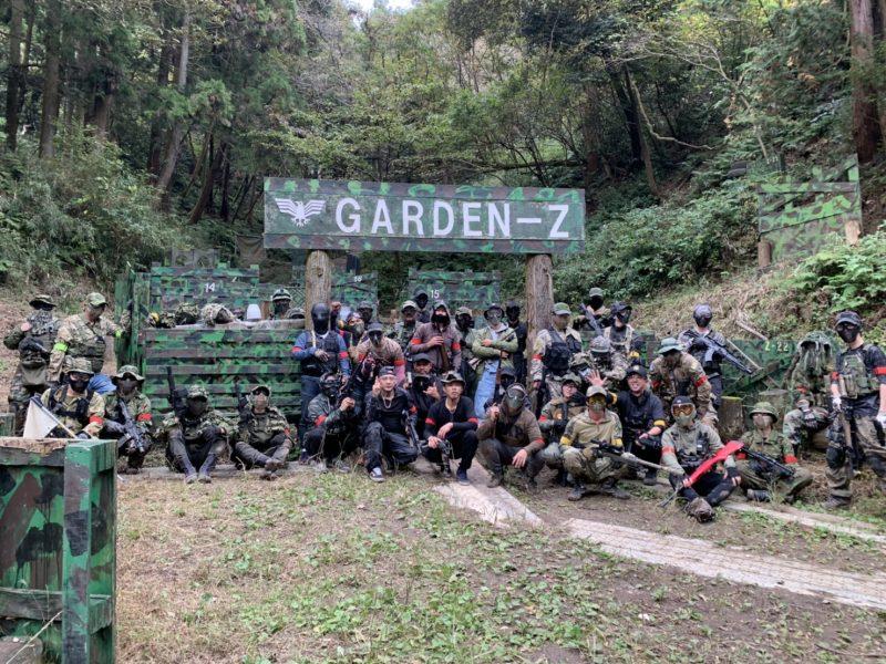 サバゲーフィールドGARDEN-Z 11月8日(日)定例会NO.2