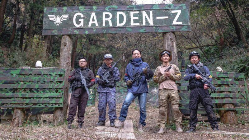 サバゲーフィールドGARDEN-Z 12月12日(土)定例会NO.2