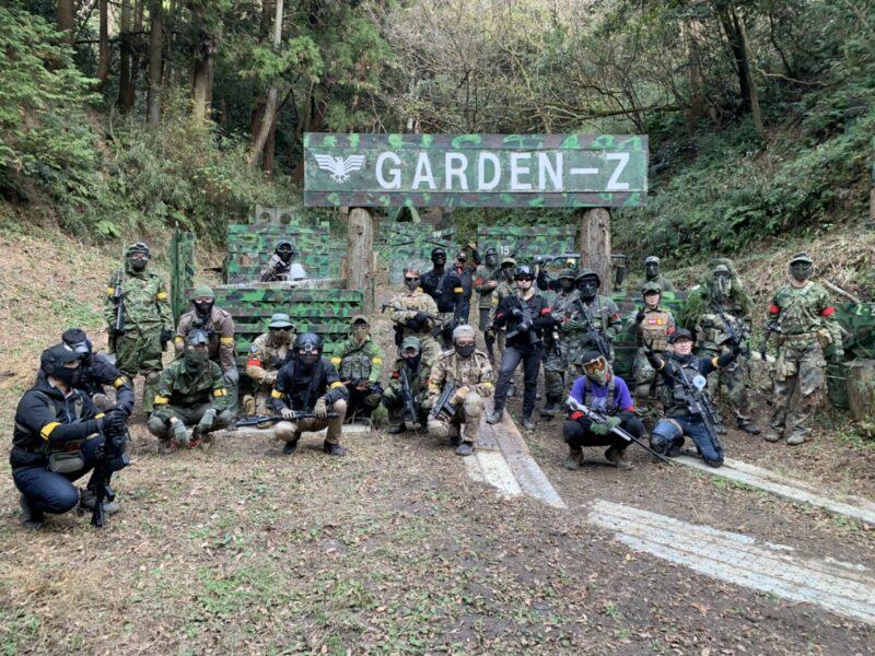 サバゲーフィールドGARDEN-Z 12月6日(日)定例会NO.3