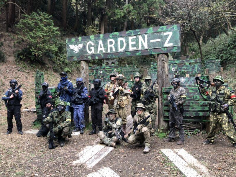 サバゲーフィールドGARDEN-Z 12月12日(土)定例会NO.3