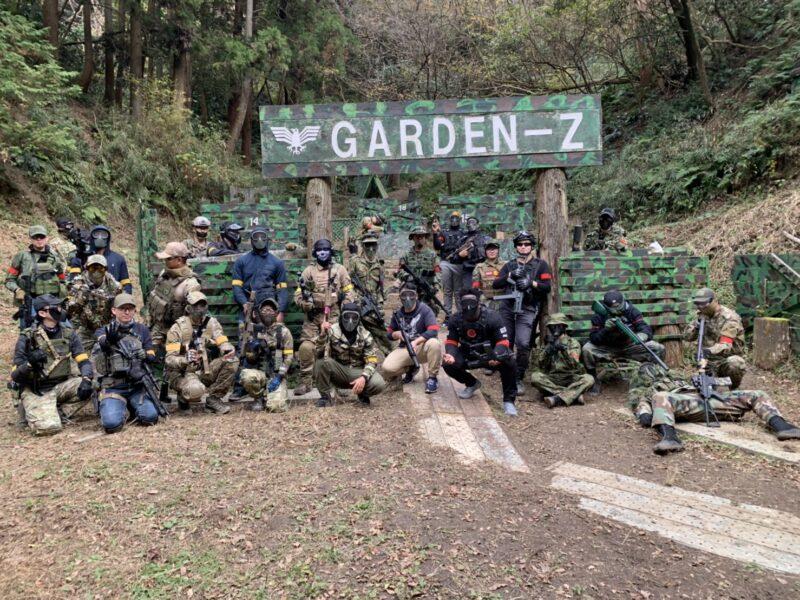 サバゲーフィールドGARDEN-Z 12月13日(日)定例会NO.2