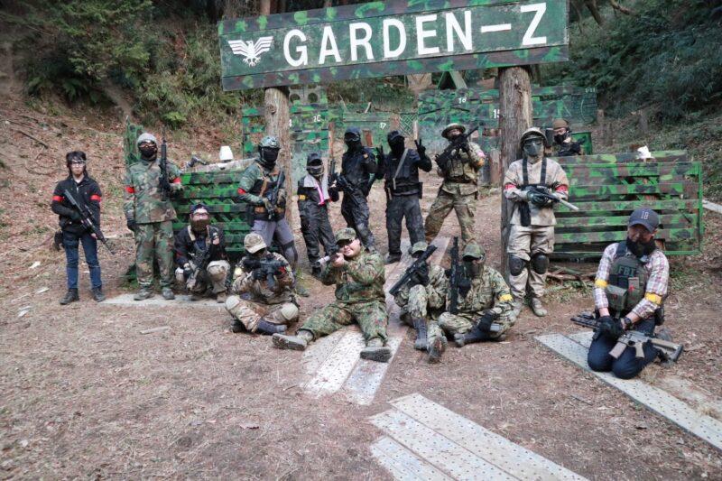 サバゲーフィールドGARDEN-Z 1月16日(土)定例会NO.1