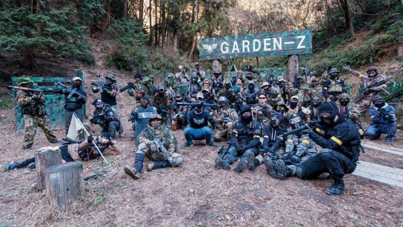 サバゲーフィールドGARDEN-Z 1月9日(土)定例会 No.3