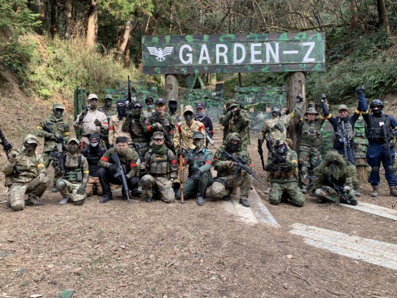 サバゲーフィールドGARDEN-Z 1月17日(日)定例会NO.2