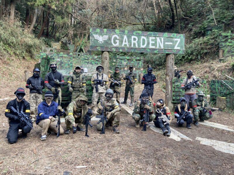 サバゲーフィールドGARDEN-Z 1月30日(土)定例会NO.2
