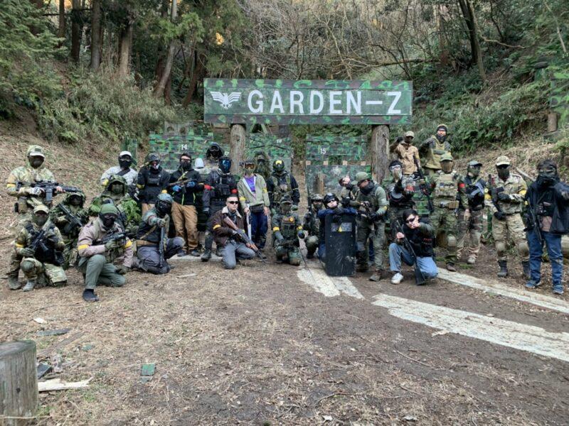 サバゲーフィールドGARDEN-Z 1月31日(日)定例会NO.3