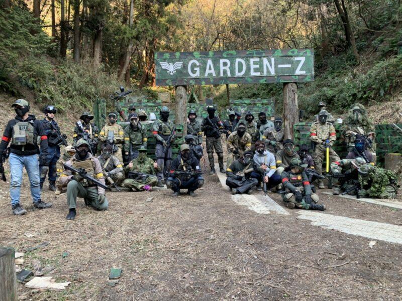 サバゲーフィールドGARDEN-Z 2月7日(日)定例会NO.4