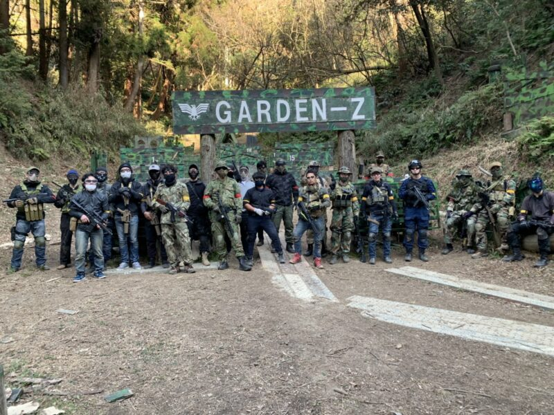 サバゲーフィールドGARDEN-Z 2月14日(日)定例会NO.4