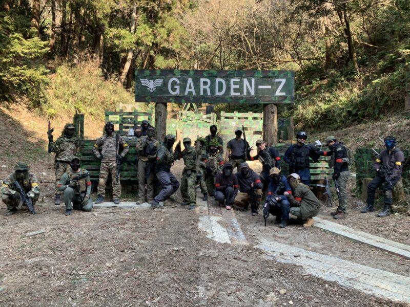 サバゲーフィールドGARDEN-Z 2月21日(日)定例会NO.2