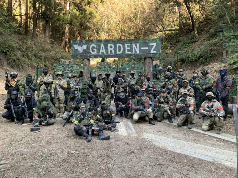 サバゲーフィールドGARDEN-Z 2月28日(日)定例会NO.3