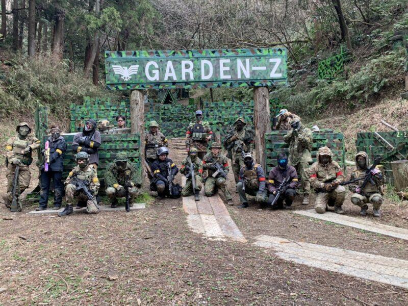 サバゲーフィールドGARDEN-Z 3月7日(日)定例会NO.3
