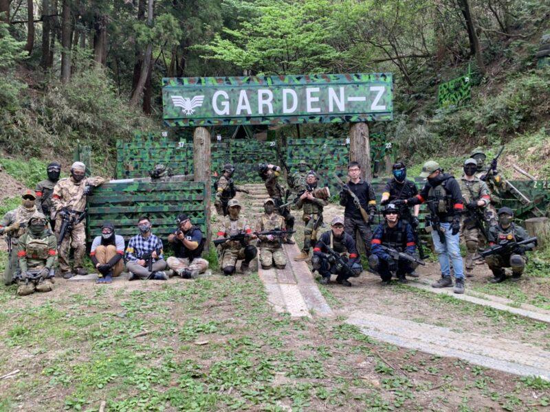 サバゲーフィールドGARDEN-Z 4月4日(日)定例会NO.3