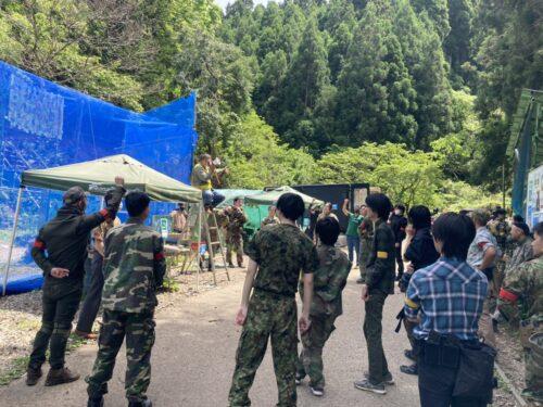 サバゲーフィールドGARDEN-Z 5月4日(火)GWイベント定例会NO.2