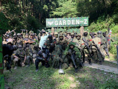 サバゲーフィールドGARDEN-Z ザ・グレート・サスケ×Strongest Militaryイベント定例会NO.5