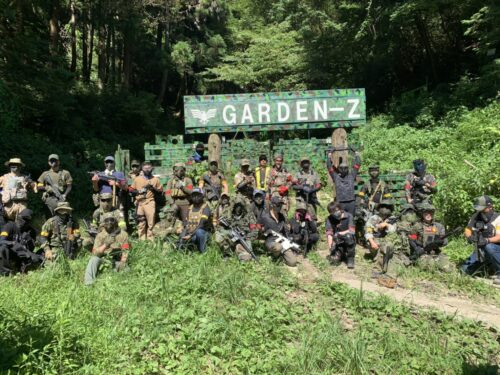 サバゲーフィールドGARDEN-Z 7月18日(日)定例会NO.3