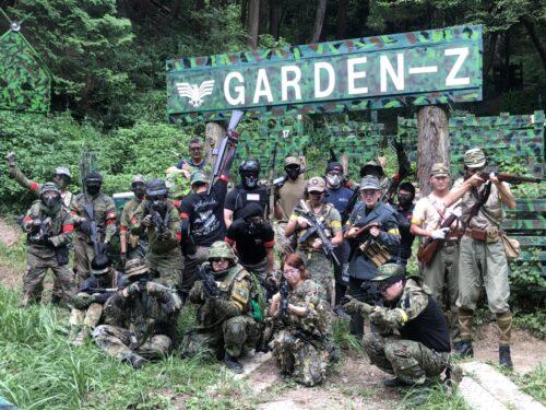 サバゲーフィールドGARDEN-Z 7月31日(土)定例会NO.4